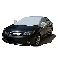 cheap Car Covers-Semi-coverage Car Covers Reflective For universal All Models All Seasons