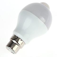 preiswerte LED-Birnen-1pc 5 W 450 lm B22 / E26 / E27 Smart LED Glühlampen A60(A19) 10 LED-Perlen SMD 5630 Infrarot-Sensor / Lichtsteuerung Warmes Weiß / Kühles Weiß 85-265 V / 1 Stück
