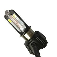 Недорогие Фары для мотоциклов-40w 4000lm мотоцикл светодиодный фонарик встроенный led drl 4 цвета доступны