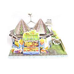 ieftine -Puzzle 3D Puzzle Modelul de hârtie Μοντέλα και κιτ δόμησης Casă Arhitectură Fruct 3D Reparații Hârtie de înaltă calitate Clasic Băieți