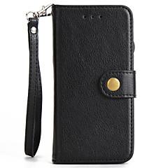 Для apple iphone 7 7 плюс чехол для крышки заклепки пряжка раскол pu материал держатель для карточек корпус для телефона 6 6 с плюс