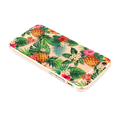Voor iPhone X iPhone 8 Hoesje cover Patroon Achterkantje hoesje Fruit Zacht TPU voor Apple iPhone X iPhone 7s Plus iPhone 8 iPhone 7 Plus