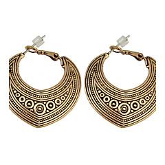 preiswerte Ohrringe-Damen Tropfen-Ohrringe / Anhänger - Freunde, Herz Personalisiert, Einzigartiges Design, Anhänger Stil Gold / Silber Für Weihnachts Geschenke / Party / Besondere Anlässe / überdimensional