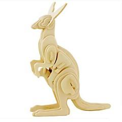 Sets zum Selbermachen 3D - Puzzle Holzpuzzle Spielzeuge Tier 3D Tiere Heimwerken Unisex Stücke