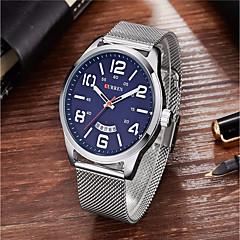voordelige Herenhorloges-Heren Unieke creatieve horloge Polshorloge Militair horloge Dress horloge Modieus horloge Sporthorloge Vrijetijdshorloge Chinees Kwarts