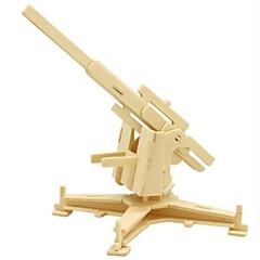 voordelige -3D-puzzels Legpuzzel Houten modellen Strijdwagen 3D DHZ Hout Natuurlijk Hout Unisex Geschenk