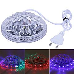voordelige Binnenverlichting-Geweldige ufo draagbare laserfase lichten 5w rgb 48 leds zonnebloem LED verlichting wandlamp voor ktv dj feest trouw ac90-240v