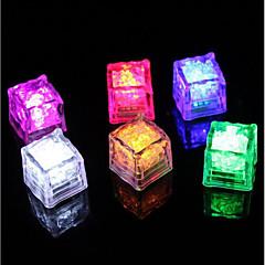 tanie Nowe światła LED-Diamond Ice Cube Shaped Light (12-Pack)