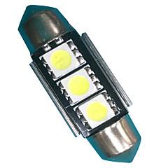 preiswerte Autozubehör-2pcs Girlande Auto Leuchtbirnen 1.5W SMD 5050 150lm LED Accessoires