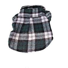 Χαμηλού Κόστους Ρούχα και αξεσουάρ για σκύλους-Σκύλος Παλτά Smoching Ρούχα για σκύλους Πάρτι Καθημερινά Γεωμτερικό Κόκκινο Πράσινο Μπλε Στολές Για κατοικίδια