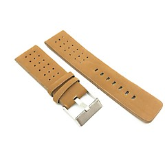 economico Accessori per orologi-pelle sintetica / finta pelle Cinturino per orologio  Cinghia per Marrone 26cm / 10.24 Pollici 2cm / 0.8 Pollici