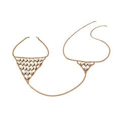 Damskie Biżuteria Łańcuch nadwozia / Belly Chain Modny Stop Biżuteria Na Outdoor oděvy Wyjściowe Codzienne