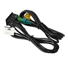 Недорогие Аварийные инструменты-Kkmoon usb aux аудиокабель для подключения кабеля для vw passat b6 b7 cc touran polo facelift rcd510 / 310