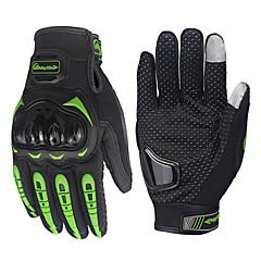 abordables Accesorios para Motos y Cuatriciclos-guante blindado motocicleta ciclismo guantes de carreras ciclismo guantes antideslizantes dedo completo de la motocicleta