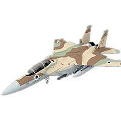 voordelige -3D-puzzels Bouwplaat Papierkunst Modelbouwsets Vliegtuig Vechter Eagle 3D Simulatie DHZ Klassiek Unisex Geschenk