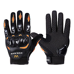 WOSAWE Sports Gloves Bike Gloves / Cycling Gloves Wearable Skidproof Protective Full-finger Gloves Mountain Cycling Road Cycling Cycling