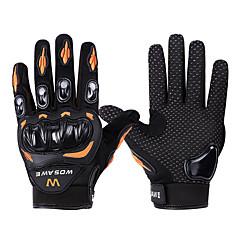 WOSAWE Rękawiczki sportowe Rękawiczki rowerowe Zdatny do noszenia Skidproof Ochronne Full Finger Kolarstwo górskie Kolarstwie szosowym