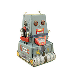 Wind-up Toy Robot Toys Square Tank Machine Robot Wrought Iron Iron Pieces Not Specified Gift