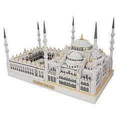 مجموعة اصنع بنفسك قطع تركيب3D نموذج الورق ألعاب مربع بناء مشهور Church معمارية اصنع بنفسك غير محدد قطع