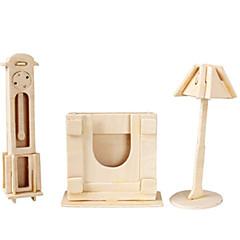 رخيصةأون -قطع تركيب3D تركيب النماذج الخشبية طيارة بناء مشهور مفروشات معمارية 3D اصنع بنفسك خشب كلاسيكي للجنسين هدية