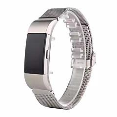 Нержавеющая сталь Спортивный ремешок Современная застежка Для Fitbit Смотреть