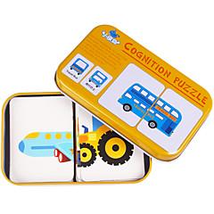 abordables Kid tablet-Tarjetas Educativas Puzzle Juguete Educativo Fruta Hierro Niños Juguet Regalo
