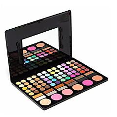 baratos -78 Paleta de Sombras Secos Paleta da sombra Pó Maquiagem para o Dia A Dia