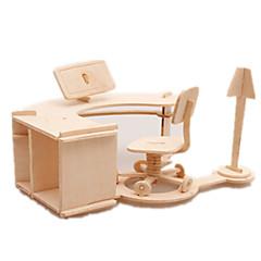 رخيصةأون -قطع تركيب3D تركيب ألعاب الجولف النماذج الخشبية طيارة بناء مشهور مفروشات غولف معمارية 3D اصنع بنفسك خشب كلاسيكي للجنسين هدية