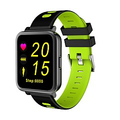 Inteligentny zegarekSpalone kalorie Krokomierze Sportowy Pulsometr Ekran dotykowy Śledzenie odległości Obsługa wiadomości Obsługa aparatu