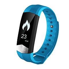 tanie Inteligentne zegarki-Inteligentna bransoletkaWodoszczelny Spalone kalorie Krokomierze Sportowy Pulsometr Ekran dotykowy Śledzenie odległości Informacje