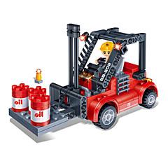Bausteine 3D - Puzzle Spielzeug-Autos Gabelstapler Spielzeuge Gabelstapler Heimwerken Jungen Mädchen Stücke
