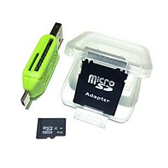 お買い得  メモリカード-Ants 4GB マイクロSDカードTFカード メモリカード Class6 AntW2-4
