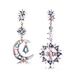 preiswerte Ohrringe-Damen Nicht übereinstimmend Unterschiedliche Ohrringe - Luxus, Bikini, Modisch Hellblau Für Hochzeit / Geburtstag / Geschenk