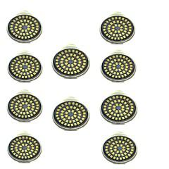 preiswerte LED-Birnen-10 Stück 3W 500lm GU10 LED Spot Lampen 48 LED-Perlen SMD 2835 Dekorativ Warmes Weiß Kühles Weiß 12V