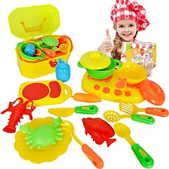 Σετ παιχνιδιών Κουζίνα Πιάτα παιχνιδιών & Σετ Τσάι Συσκευές Μαγειρέματος Kids ' Παιχνίδια Παιχνίδια Αγόρια Κοριτσίστικα 16 Κομμάτια