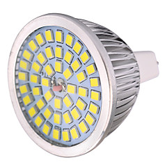 YWXLight® 7W MR16 LED Spotlight MR16 48 SMD 2835 600-700 lm Warm White Cold White Natural White Decorative AC/DC 12