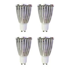 tanie Żarówki LED-6W 480 lm GU10 Żarówki punktowe LED MR16 1 Diody lED COB Przysłonięcia Ciepła biel Biały 110-120