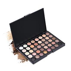 40 Paleta de Sombras Secos Mate Brilho Mineral Paleta da sombraMaquiagem para o Dia A Dia Maquiagem para Dias das Bruxas Maquiagem de