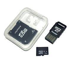 hesapli -Usb kart okuyucu ve sdhc sd adaptör ile 4GB microSDHC tf hafıza kartı