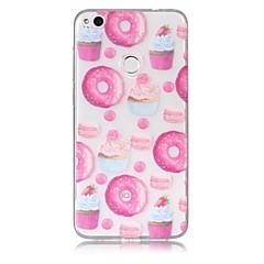 Hoesje voor huawei p10 lite p8 lite (2017) telefoon hoesje tpu materiaal donuts patroon geschilderde telefoon hoesje p9 lite p8 lite