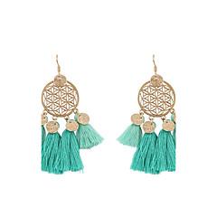 preiswerte Ohrringe-Damen Quaste Tropfen-Ohrringe - Personalisiert, Quaste, Böhmische Grün / Dunkelblau / Hellblau Für Hochzeit / Party / Abschluss