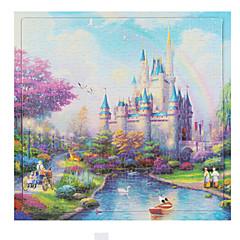 Puzzle Puzzle Lemn Jucarii Pătrat Castel Other Unisex Bucăți