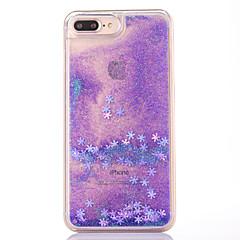 Чехол для iphone 7 плюс 7 чехол для крышки снежинка шаблон текучий жидкий блеск pc materia phone case 6s plus 6plus 6s 6 se 5s 5