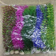 ديكور حوض السمك نبات مائي بلاستيك
