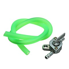 Universal 50CM Fuel Petrol Pipe Hose Line Tank Switch For Motorcycle Scooter ATV Dirt Bike