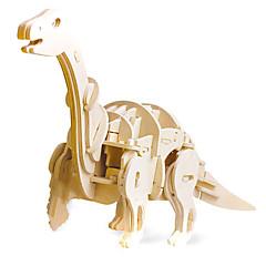 3D - Puzzle Holzpuzzle Logik & Puzzlespielsachen Modellbausätze Spielzeuge Dinosaurier Cartoon Shaped 3D Heimwerken Jungen Mädchen Stücke