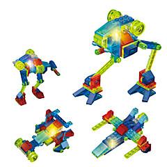 LED-verlichting Bouwblokken Educatief speelgoed Voor cadeau Bouwblokken Vechter 6 jaar en ouder Speeltjes