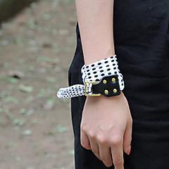 Dame Wrap Armbånd Enkelt design Natur Geometrisk Elegant Mode Vintage Punk Stil Kors Personaliseret Hip-hop Håndlavet luksus smykker
