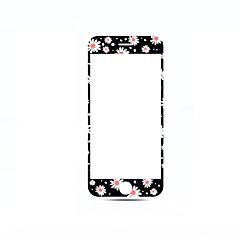 Недорогие Защитные пленки для iPhone 7-Защитная плёнка для экрана Apple для iPhone 7 Закаленное стекло 1 ед. Защитная пленка на всё устройство 3D закругленные углы Защита от
