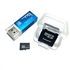 preiswerte Speicherkarten-8GB Micro-SD-Karte TF-Karte Speicherkarte Class6 AntW4-8